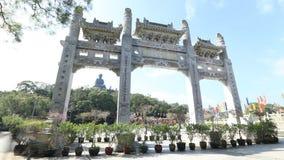 Po Lin Monastery stock video
