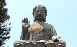 Po Lin temple of Lantau Stock Image