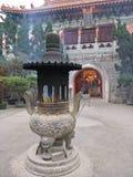 Po Lin Temple. Temple nearby the big buddha on lantau Island Stock Images