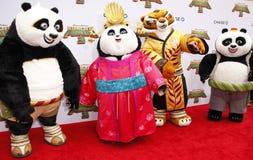 Po, Mei Mei i Bao, tygrysica Zdjęcie Royalty Free