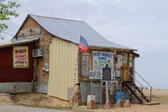 Po' Monkey's juke joint in Merigold Stock Photography