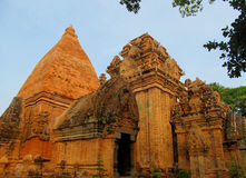 Po Nagar καταστροφές πύργων ναών στο Βιετνάμ, Ασία Στοκ Φωτογραφία