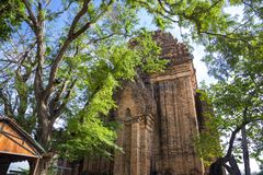 Po Nagar Cham ναός πύργων σύνθετος στην πόλη Nha Trang στοκ φωτογραφία