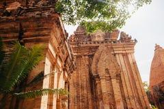 Po Nagar Cham παγόδα πύργων σε Nha Trang, Βιετνάμ Στοκ Εικόνα