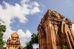 Po Nagar Cham παγόδα πύργων σε Nha Trang, Βιετνάμ Στοκ Φωτογραφία