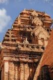 Po Nagar Cham παγόδα πύργων σε Nha Trang, Βιετνάμ Στοκ φωτογραφία με δικαίωμα ελεύθερης χρήσης