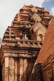 Po Nagar Cham παγόδα πύργων σε Nha Trang, Βιετνάμ Στοκ εικόνες με δικαίωμα ελεύθερης χρήσης