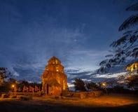 Po Nagar Cham πύργοι, πύργος Nhan, Βιετνάμ Στοκ Εικόνες