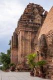 Po Nagar Cham πύργοι σε Nha Trang Βιετνάμ Στοκ Φωτογραφίες