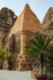 Po Nagar Cham πύργοι σε Nha Trang Βιετνάμ Στοκ Εικόνες