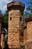 Po Nagar Cham πύργοι Στοκ Εικόνα