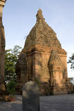 Po Nagar Cham towers - Nha Trang. Towers were built by the Cham civilization. Buddhist place of Vietnam Royalty Free Stock Photo