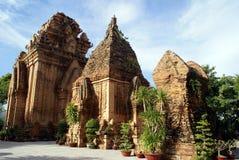 PO Nagar dans Nha Trang Images libres de droits