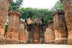 Po Nagar en Nha Trang Imagen de archivo