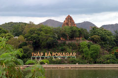 Po Nagar in Nha Trang Stock Foto's