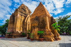 Po Ngar Cham πύργοι σε Nha Trang, Βιετνάμ, Στοκ φωτογραφία με δικαίωμα ελεύθερης χρήσης