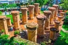 Po Ngar Cham πύργοι σε Nha Trang, Βιετνάμ, Στοκ εικόνες με δικαίωμα ελεύθερης χρήσης