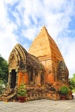 Po Ngar Cham πύργοι σε Nha Trang, Βιετνάμ Στοκ φωτογραφίες με δικαίωμα ελεύθερης χρήσης