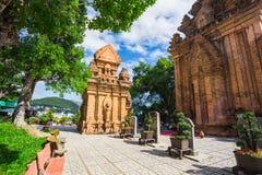 Po Ngar Cham πύργοι σε Nha Trang Στοκ φωτογραφία με δικαίωμα ελεύθερης χρήσης