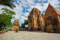 Po Ngar Cham πύργοι σε Nha Trang Στοκ Φωτογραφία