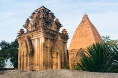 Po Ngar Cham πύργοι σε Nha Trang Στοκ Φωτογραφίες