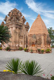 Po Ngar Cham Towers in Nha Trang Royalty Free Stock Photo