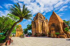 Po Ngar Cham Towers in Nha Trang, Vietnam Stock Image