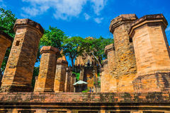 Po Ngar Cham Towers in Nha Trang, Vietnam, Royalty Free Stock Image
