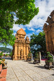 Po Ngar Cham Towers in Nha Trang Stock Images