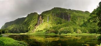 Poço da Alagoinha, Flores island Stock Photography