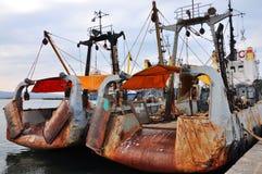 Połowów mali naczynia Zdjęcia Royalty Free