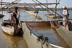 Połowu artelu Tonle aprosza Zdjęcie Stock