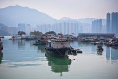 połowu Hong kong wioska Zdjęcie Stock