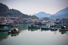 połowu Hong kong wioska Zdjęcia Royalty Free