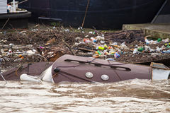 Po powodzi Obrazy Stock