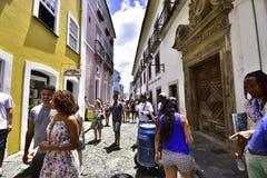 Po prostu Brazylia Pelourinho miasto Salvador zdjęcie stock