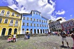 Po prostu Brazylia Pelourinho miasto Salvador fotografia stock