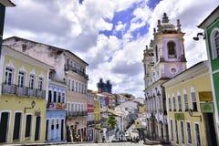 Po prostu Brazylia Pelourinho miasto Salvador fotografia royalty free