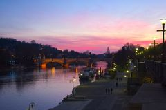 Po river in Turin Stock Photography