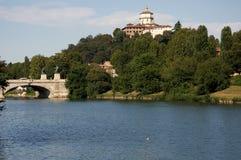 po rzeka Turin Zdjęcie Royalty Free