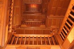 po schodach zamku Zdjęcia Stock