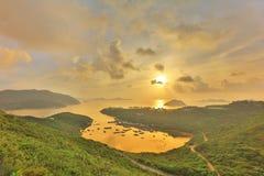 Po Toi Ο στο πρωί, Χονγκ Κονγκ Στοκ Φωτογραφίες