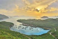 Po Toi Ο στο πρωί, Χονγκ Κονγκ Στοκ φωτογραφία με δικαίωμα ελεύθερης χρήσης