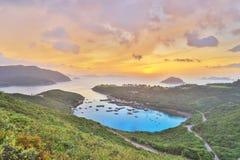 Po Toi Ο στο πρωί, Χονγκ Κονγκ Στοκ Εικόνες
