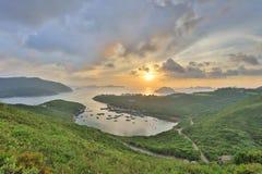 Po Toi Ο στο πρωί, Χονγκ Κονγκ Στοκ φωτογραφίες με δικαίωμα ελεύθερης χρήσης