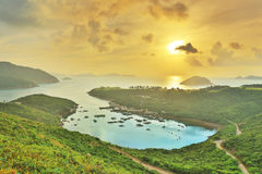 Po Toi Ο στο πρωί, Χονγκ Κονγκ Στοκ εικόνες με δικαίωμα ελεύθερης χρήσης