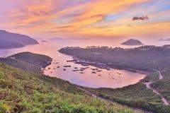 Po Toi Ο στο πρωί, Χονγκ Κονγκ Στοκ εικόνα με δικαίωμα ελεύθερης χρήσης