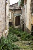 Po trzęsienia ziemi w Włochy Zdjęcia Royalty Free