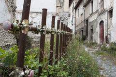 Po trzęsienia ziemi w Włochy Fotografia Royalty Free