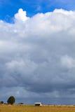 Po tym jak deszcz, ziemi wyspa Zdjęcia Royalty Free